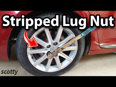 How to Remove Stripped Lug Nut Stud on Your Car