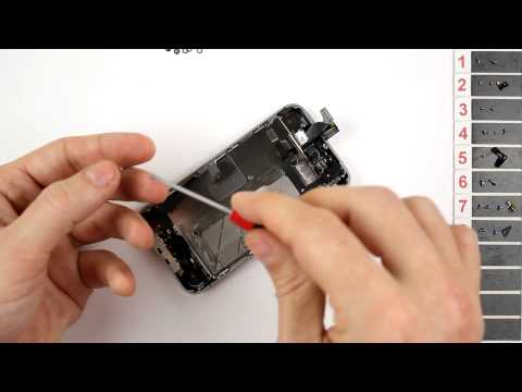 iPhone 4S Home Button Replacement Disassembly and Reassembly - CRAZYPHONES