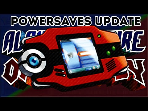 PowerSaves Update: Max Pokedex, Dexnav and Game Time!