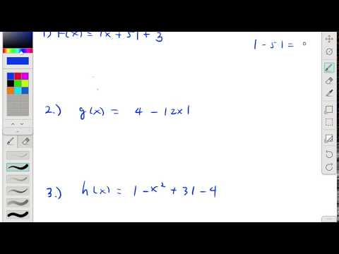 DR15 Domain and Range of Absolute Value Functions Part 2