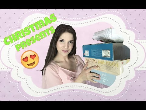 Opening Christmas Presents - Beauty and the Beast and Barbies!