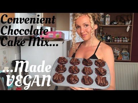 Betty Crocker Cake Mix Made VEGAN: showing more convenient vegan treat options