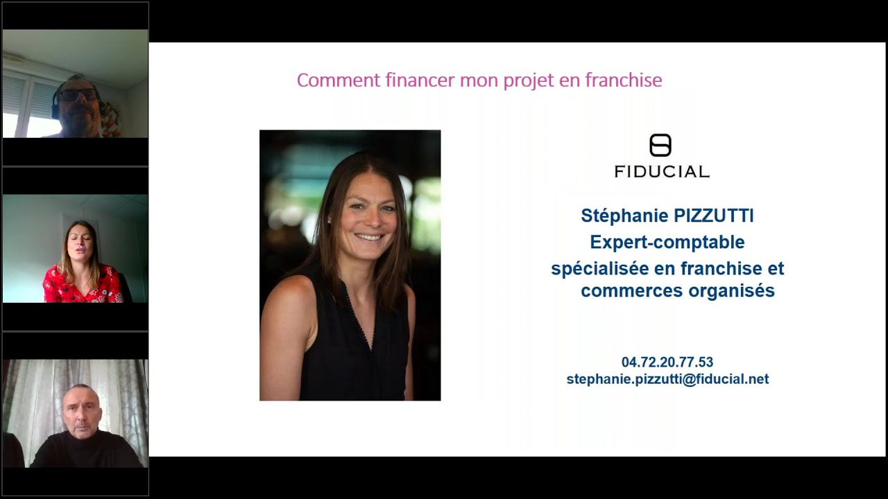 Forum Franchise 2020 - Comment financer mon projet en franchise ?