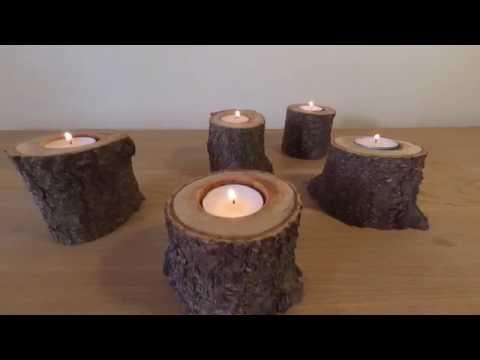 eco candle holder, DIY