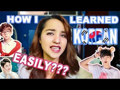 HOW I LEARNED KOREAN LANGUAGE EASILY