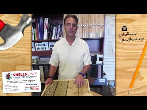 Cedar Decking | Fifteen Second Tips by Shells Only