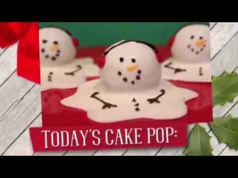 Melted Snowman Cake Pop Tutorial