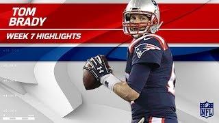 Tom Brady Puts On a Clinic Against Atlanta! | Falcons vs. Patriots | Wk 7 Player Highlights