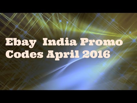 Ebay India Promo Codes April 2016 - Working Coupon Codes