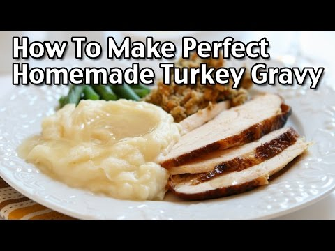 How to Make The Perfect Homemade Turkey Gravy From Scratch