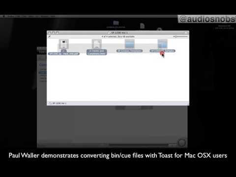 converting bin/cue files in mac osx with toast.mp4