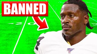Players BANNED From NFL