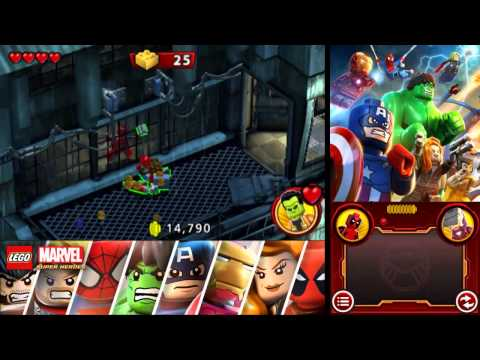 LEGO Marvel Super Heroes: Universe in Peril 100% Freeplay Guide - Chapter 4 - The Raft