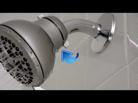 How to Install a Shower Head (Fixed Mount -- Hidden Pivot Ball)