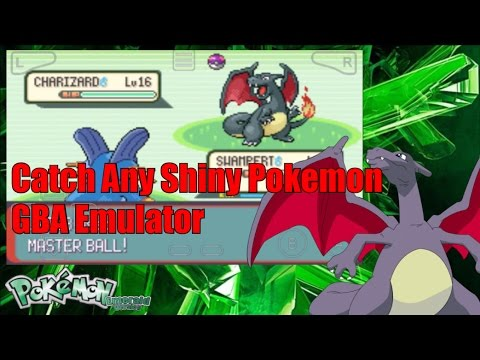 How To Catch All Shiny Pokemon In Pokemon Emerald On GBA Emulator Cheat Code