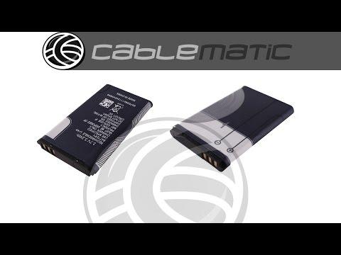 Batería compatible Nokia®distribuido por CABLEMATIC ®