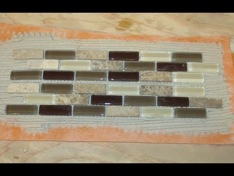 Tip for making a glass tile border