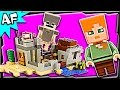 Lego Minecraft DESERT OUTPOST 21121 Stop Motion Build Review