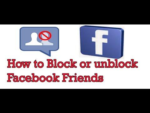 How to block/Unblock Any facebook Friends Urdu hindi 2017