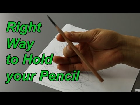 Basic Drawing Technique - How To Control Your Drawing Pencil