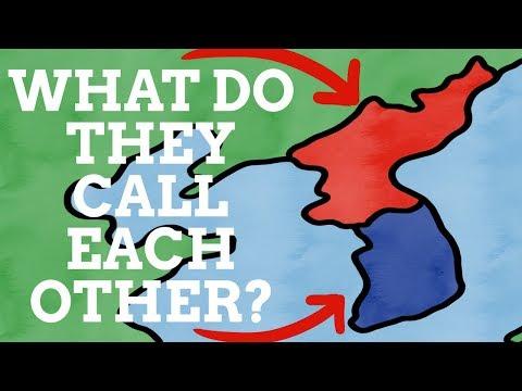 What Do North Korea & South Korea Call Each Other?
