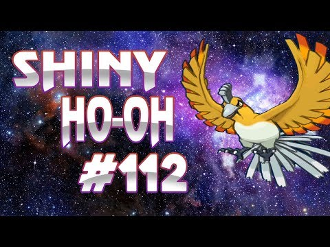 Live Shiny Ho-oh Reaction in 3300 SR's - Road To Shiny Living Dex