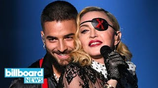 Madonna & Maluma Television Debut of 'Medellin' at 2019 BBMAs | Billboard News