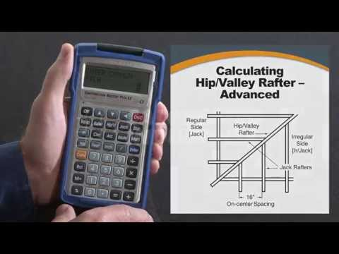 Construction Master Plus EZ Advanced Hip & Valley Rafters How To