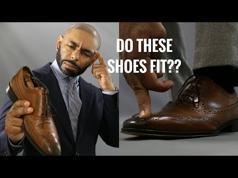 How Dress Shoes Should Fit/How To Buy The Right Size Shoes