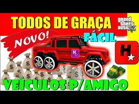 GTA 5  GLITCH DE DINHEIRO PS4/X1/PC NOVO Glitch Veículos Grátis | EASIEST Give Cars To Friends GTA V