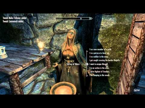 Skyrim Mass Effect Mod Gameplay Part 1: Technical issues