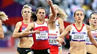 Turkeys Asli Cakir Alptekin Wins Womens 1500 Meters Gold Medal 2012 L