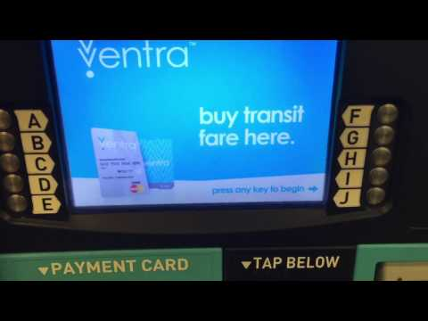 How to refill money on CTA Ventra card by cash for CTA Ventra Card Chicago, IL, USA
