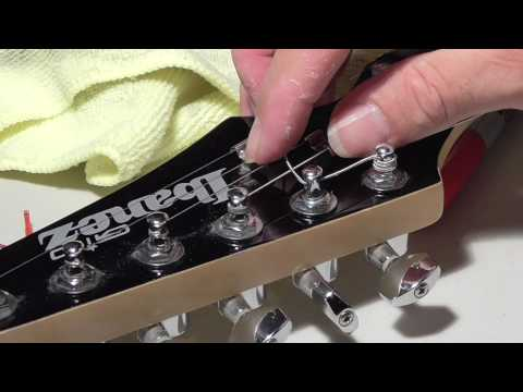 How To Restring an Electric Guitar for Beginners