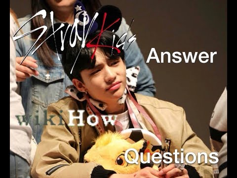 STRAY KIDS ANSWER WIKIHOW QUESTIONS//BABY MINHO