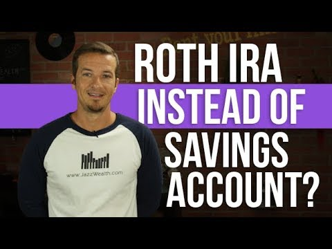 Use a Roth IRA for short term savings?