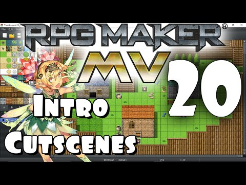 RPG Maker MV Tutorial #20 - Intro Custscenes PART 1