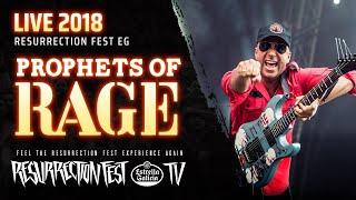 Prophets of Rage - Killing In The Name (ft. Frank Carter) (Live at Resurrection Fest EG 2018)