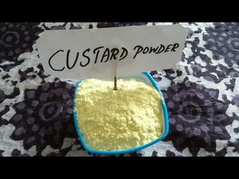 How to make custard powder at home in Tamil | Homemade custard powder| homemade vanilla custard powd
