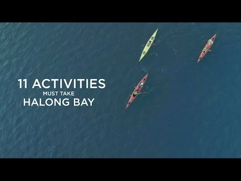 11 Must-Take Activities on Halong bay, Vietnam