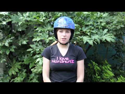 HardnutZ ski helmet fitting instruction video