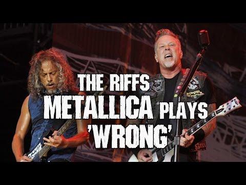 Riffs Metallica plays live