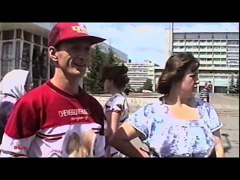 Street Interviews | Russian / USSR Trams | Krasnoyarsk Siberia Russia 1994