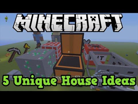 Minecraft Xbox + PS3: 5 House Ideas