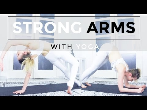 Build Strong and Sculpted Arms with Yoga