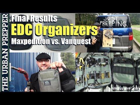 Best EDC Organizer: Maxpedition vs. Vanquest (5/5) by TheUrbanPrepper