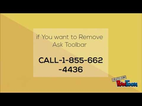 1-855-6624436How to remove Ask Toolbar From chrome