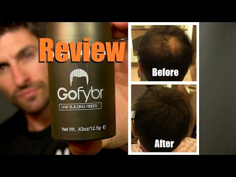 How To Make Thinning Hair Look Thicker | Gofybr Review and Test Application