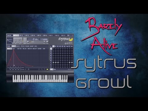 FL 12 TUTORIAL | Barely Alive Style FM Growl + FLP [2015]