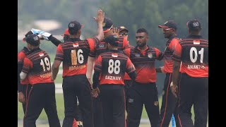 ICC CWC Challenge League Group A | Match 2 | Singapore v Qatar | Full match highlights